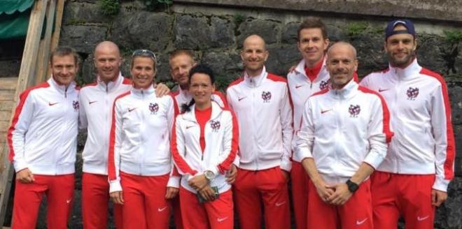 Det danske landshold med crew. Billedet lånt fra https://www.facebook.com/Exploringthelimitsttc/